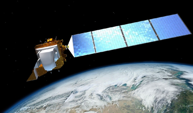 The government can watch you from space. (Photo: Wikimedia Commons)