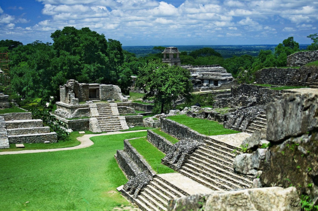 The Mayan City of Palenque, Mexico. (Photo: Wikimedia Commons)